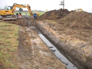 Kanalsanierung Baustelle