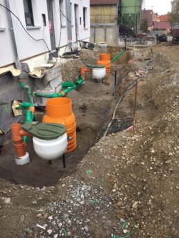 Vakuumschacht Roediger Unterdruckentwässerung
