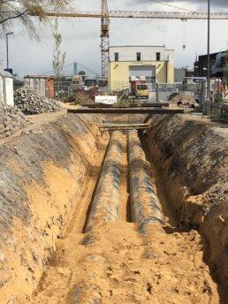 Sanierung eines Kanals